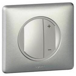Светорегулятор клавишный Legrand CELIANE DIY, 600 Вт, титан, 696947