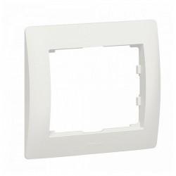Рамка 1 пост Legrand GALEA LIFE DIY, жемчужно-белый, 696991