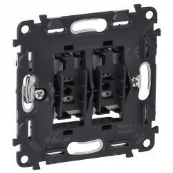 Механизм выключателя 2-клавишного Legrand VALENA INMATIC, скрытый монтаж, 752018
