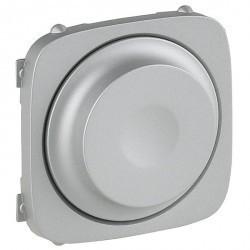 Накладка на светорегулятор Legrand VALENA ALLURE, алюминий, 752047