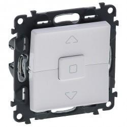 Выключатель для жалюзи кнопочный Legrand VALENA LIFE, белый, 752430