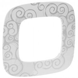 Рамка 1 пост Legrand VALENA ALLURE, нарцисс хром, 754341