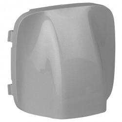 Накладка на вывод кабеля Legrand VALENA ALLURE, алюминий, 755057