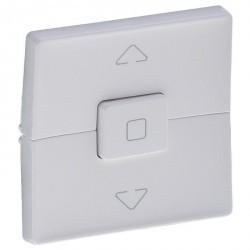 Накладка на жалюзийный выключатель Legrand VALENA ALLURE, белый, 755140