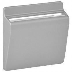 Накладка на карточный выключатель Legrand VALENA LIFE, алюминий, 755162