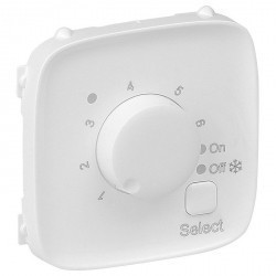 Накладка на термостат Legrand VALENA ALLURE, белый, 755325