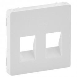 Накладка на аудиорозетку Legrand VALENA LIFE, белый, 755370