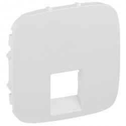 Накладка на розетку информационную Legrand VALENA ALLURE, белый, 755415