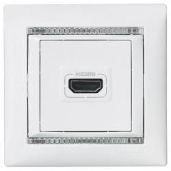Розетка HDMI Legrand VALENA CLASSIC, белый, 770085
