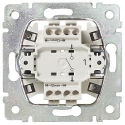 Выключатель 1-клавишный Legrand VALENA CLASSIC, скрытый монтаж, алюминий, 770102