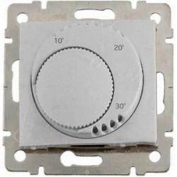 Термостат комнатный Legrand VALENA CLASSIC, алюминий, 770226