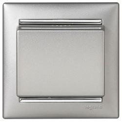 Карточный выключатель Legrand VALENA CLASSIC, электронный, алюминий, 770235