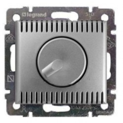 Светорегулятор поворотный Legrand VALENA CLASSIC, 1000 Вт, алюминий, 770260