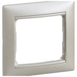Рамка 1 пост Legrand VALENA CLASSIC, жемчужный, 770471