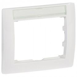 Рамка 1 пост Legrand GALEA LIFE, горизонтальная, белый, 771013