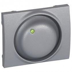 Накладка на светорегулятор Legrand GALEA LIFE, алюминий, 771168