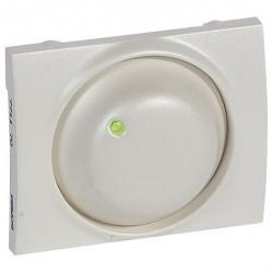 Накладка на светорегулятор Legrand GALEA LIFE, жемчужно-белый, 771170