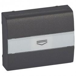 Накладка на карточный выключатель Legrand GALEA LIFE, темная бронза, 771254