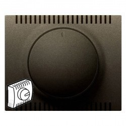 Накладка на светорегулятор Legrand GALEA LIFE, темная бронза, 771259