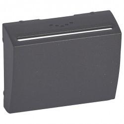 Накладка на карточный выключатель Legrand GALEA LIFE, темная бронза, 771274