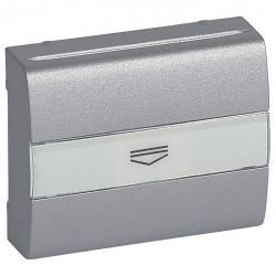Накладка на карточный выключатель Legrand GALEA LIFE, алюминий, 771354