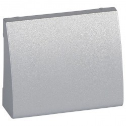 Накладка на вывод кабеля Legrand GALEA LIFE, алюминий, 771385