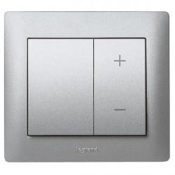 Накладка на светорегулятор Legrand GALEA LIFE, алюминий, 771386