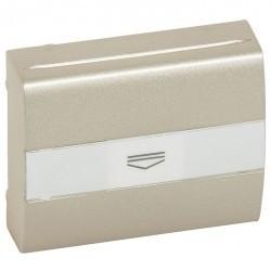 Накладка на карточный выключатель Legrand GALEA LIFE, титан, 771454