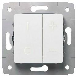 Светорегулятор клавишный Legrand CARIVA, 600 Вт, белый, 773615