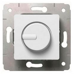 Светорегулятор поворотный Legrand CARIVA, 300 Вт, белый, 773617