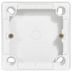 Cariva Коробка накладная 26 мм, бел.