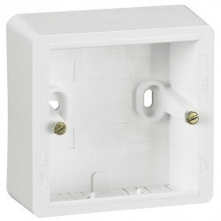 Cariva Коробка накладная, бел.