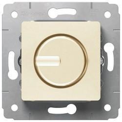 Светорегулятор поворотный Legrand CARIVA, 300 Вт, слоновая кость, 773717