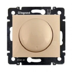 Светорегулятор поворотный Legrand VALENA CLASSIC, 400 Вт, слоновая кость, 774161