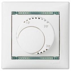 Термостат комнатный Legrand VALENA CLASSIC, белый, 774226