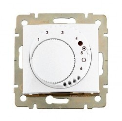 Термостат комнатный Legrand VALENA CLASSIC, белый, 774227
