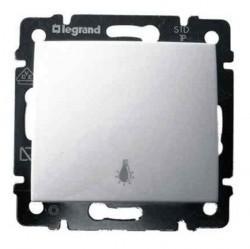 Выключатель 1-клавишный кнопочный Legrand VALENA CLASSIC, скрытый монтаж, белый, 774412