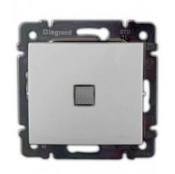 Переключатель 1-клавишный Legrand VALENA CLASSIC, с подсветкой, скрытый монтаж, белый, 774426