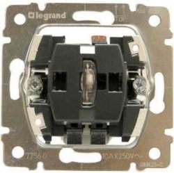 Механизм выключателя 1-клавишного Legrand GALEA LIFE, с подсветкой, скрытый монтаж, 775600