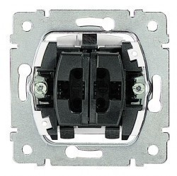 Механизм переключателя 1-клавишного Legrand GALEA LIFE, с подсветкой, скрытый монтаж, 775609