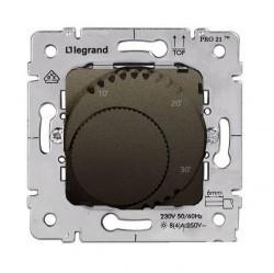Термостат комнатный Legrand GALEA LIFE, темная бронза, 775684