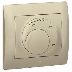 Термостат комнатный Legrand GALEA LIFE, титан, 775686