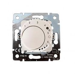 Термостат для теплого пола Legrand GALEA LIFE, с датчиком, жемчужно-белый, 775691