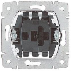 Механизм выключателя 1-клавишного двухполюсного Legrand GALEA LIFE, скрытый монтаж, 775802
