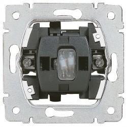 Механизм переключателя 1-клавишного Legrand GALEA LIFE, с подсветкой, скрытый монтаж, 775820