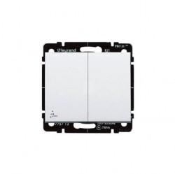 Выключатель 1-клавишный Legrand GALEA LIFE, скрытый монтаж, белый, 775852