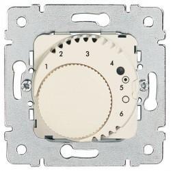 Термостат для теплого пола Legrand GALEA LIFE, с датчиком, белый, 775858