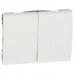 Клавиша двойная Legrand GALEA LIFE, белый, 777012