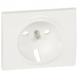 Накладка на розетку Legrand GALEA LIFE, с заземлением, белый, 777020