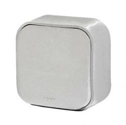 Выключатель 1-клавишный Legrand QUTEO, открытый монтаж, белый, 782200